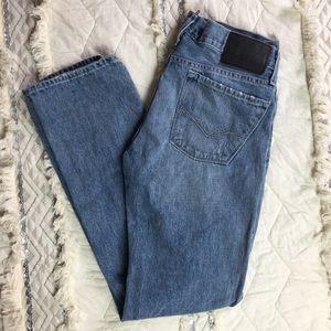 Men's Guess Slim Straight Jeans Light Wash 32x32